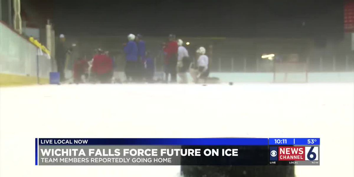 WF Force leaves the ice