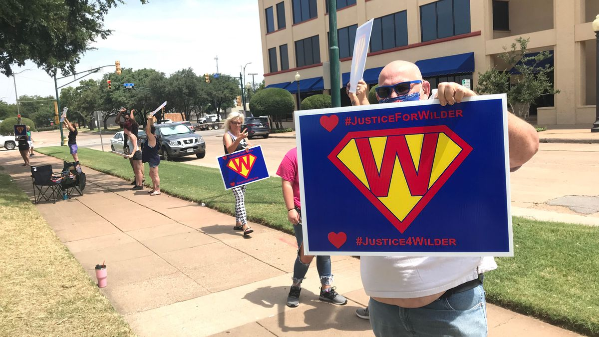 Protesters gather to demand justice for Wilder