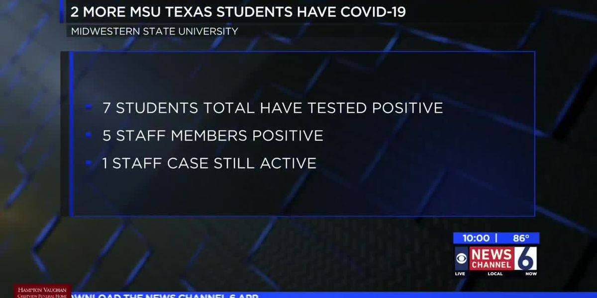 Two new MSU Texas students test positive for COVID-19