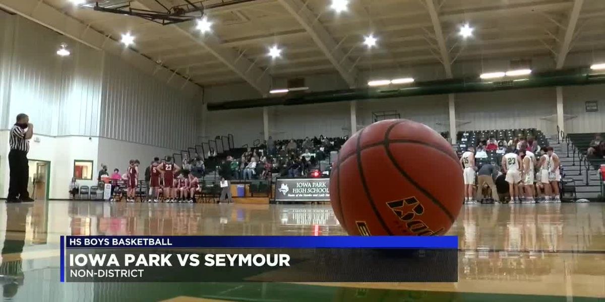 HS boys basketball: Iowa Park vs Seymour