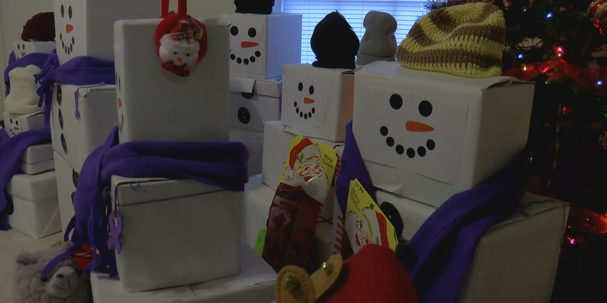 Families at First Step to have a gift filled Christmas