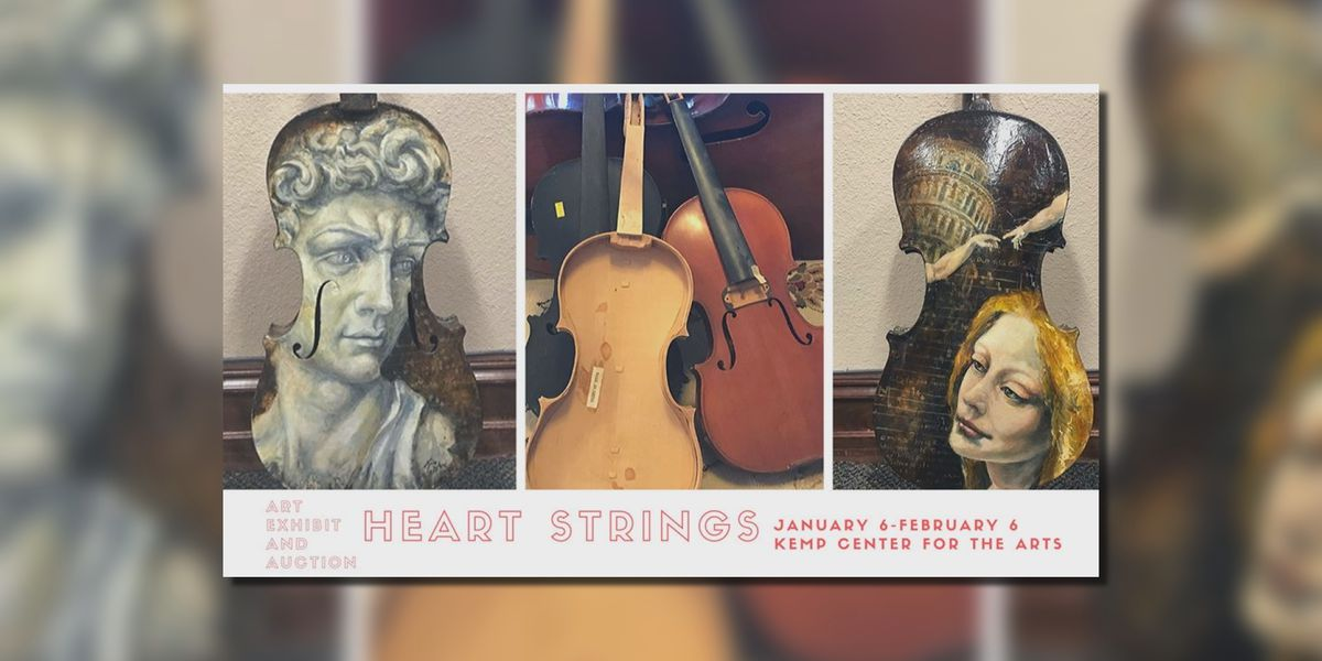 WF Youth Symphony Orchestra: 'Heart Strings' art exhibit
