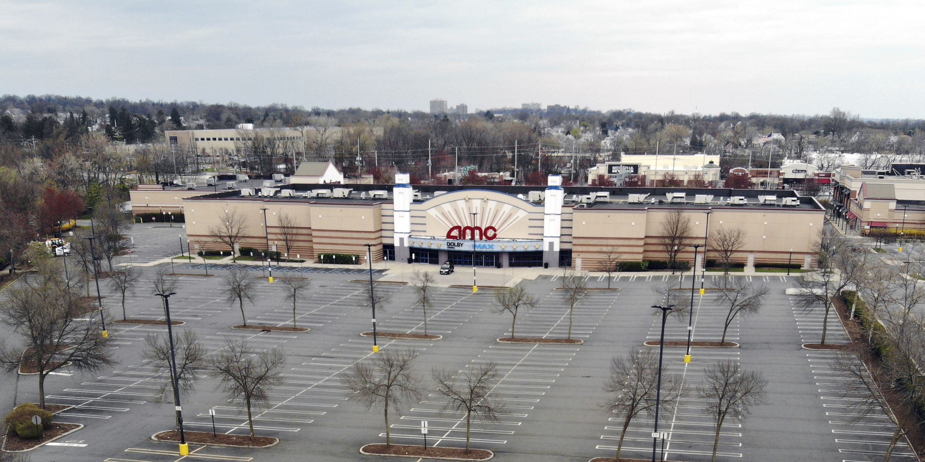 Credit rating agency says AMC Theaters is in big trouble
