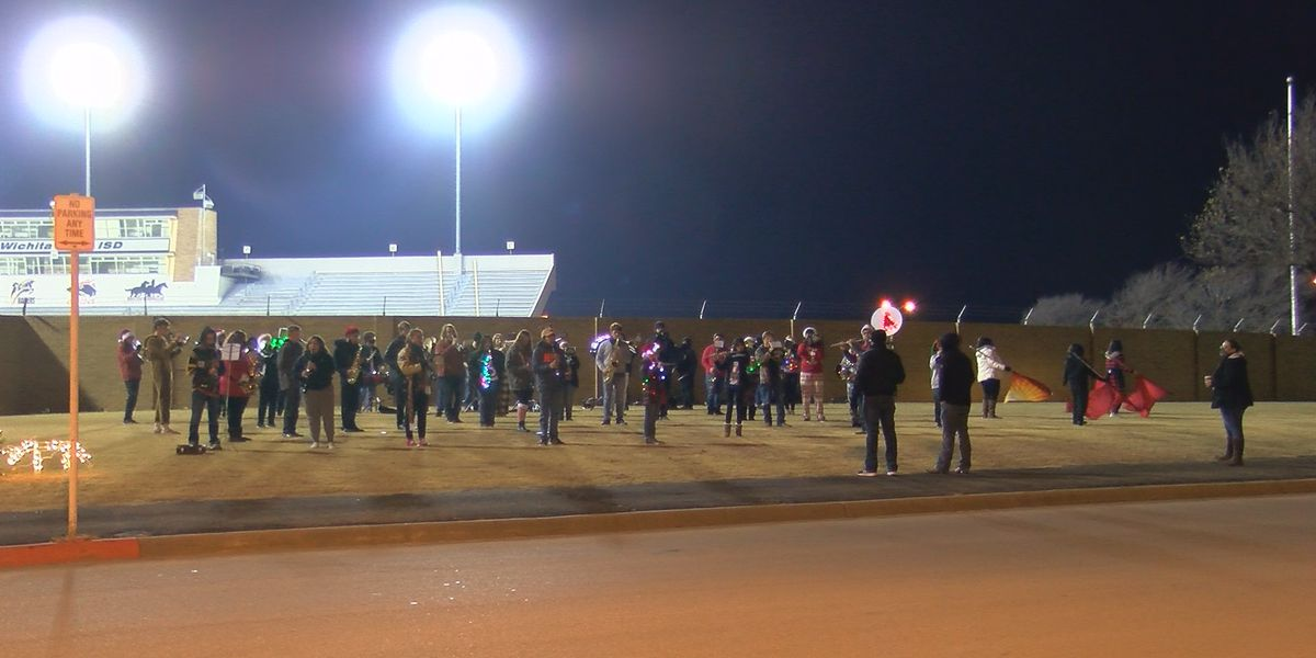 WFISD holds first ever Sounds of the Season drive-thru Christmas concert