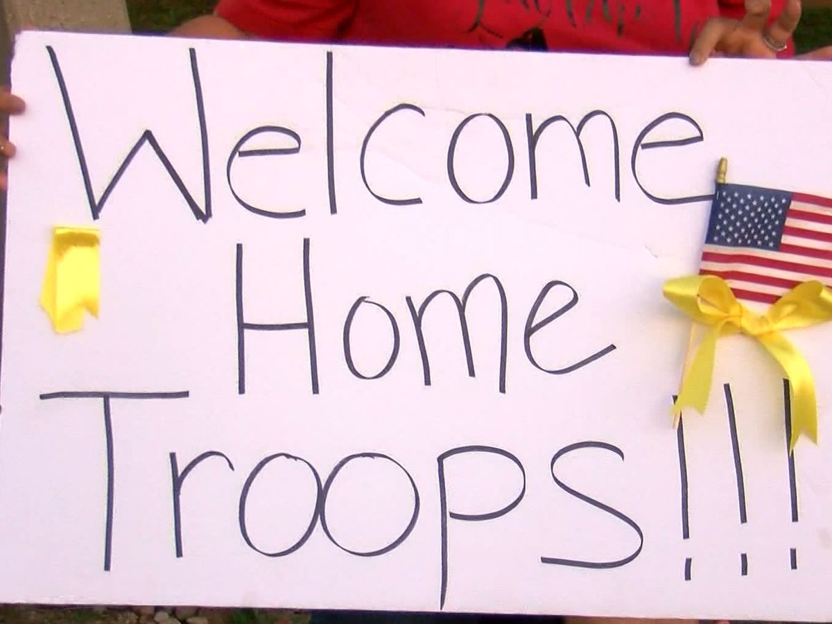 National Guard soldiers return to WF after deployment