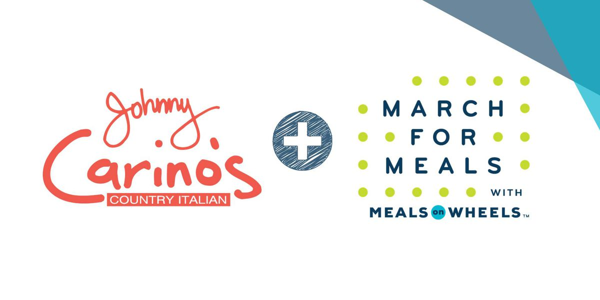Tuesday Johnny Carrino's meal to support Meals on Wheels