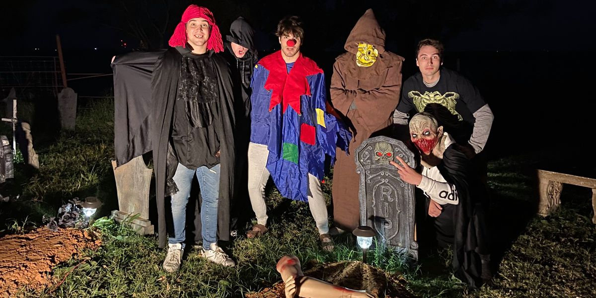 Wichita Falls Warriors help provide scares at haunted house