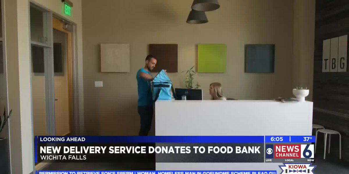 New delivery service launches, donates to WF-Area Food Bank in March