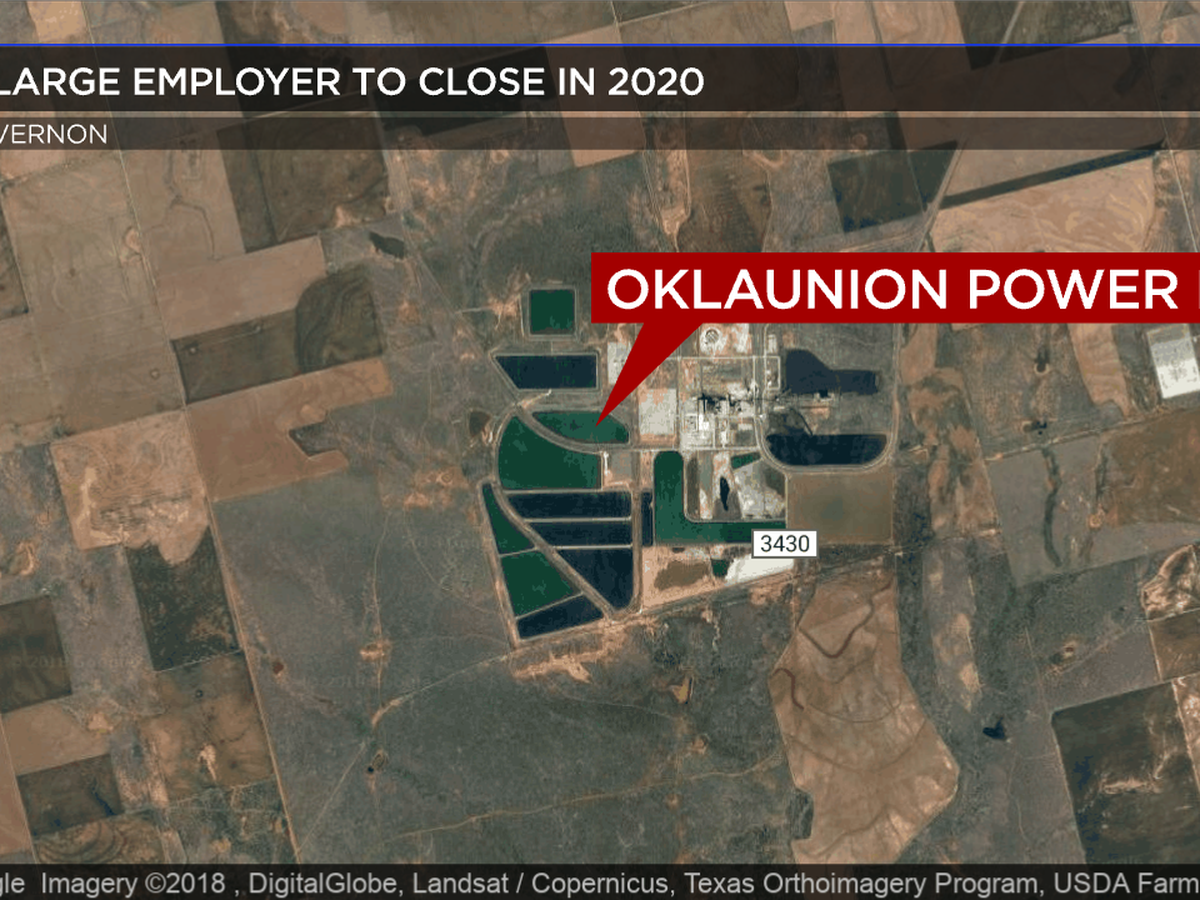 Oklaunion Power Station to close in mid-2020