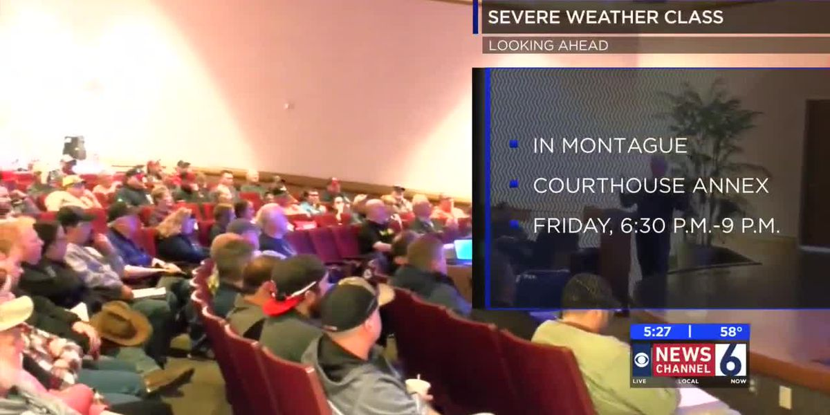 Skywarn training coming to Montague Friday