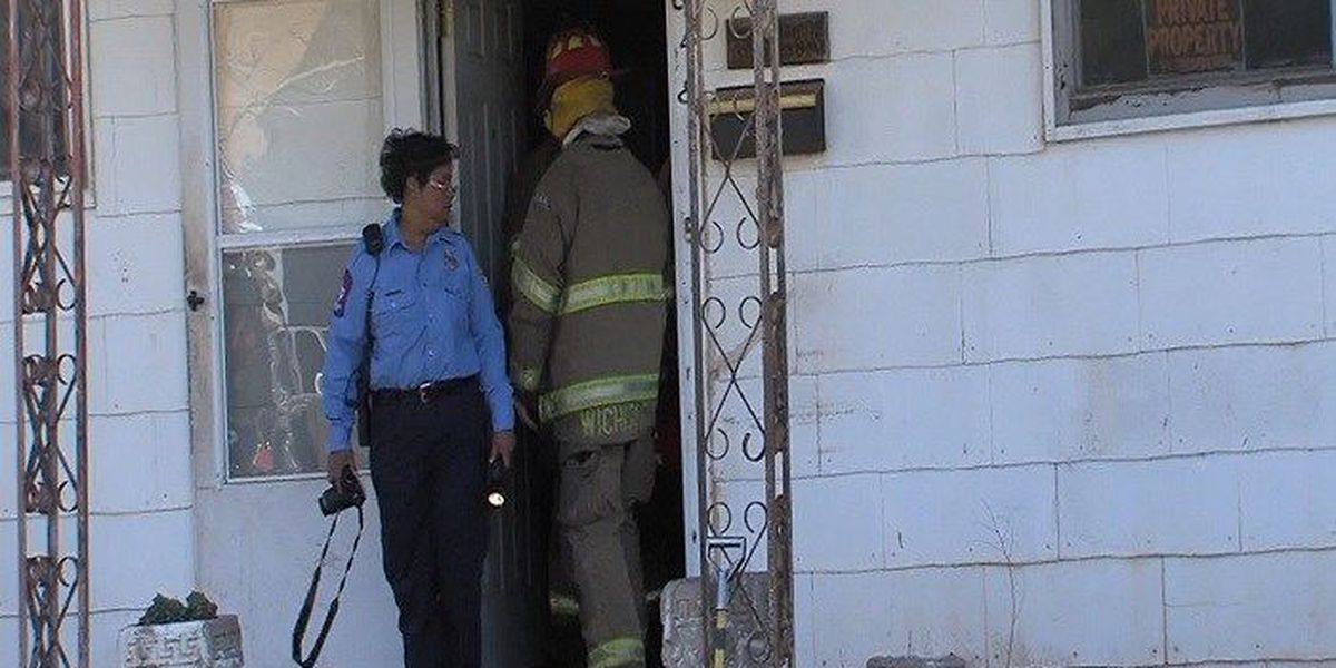 Space heater causes house fire