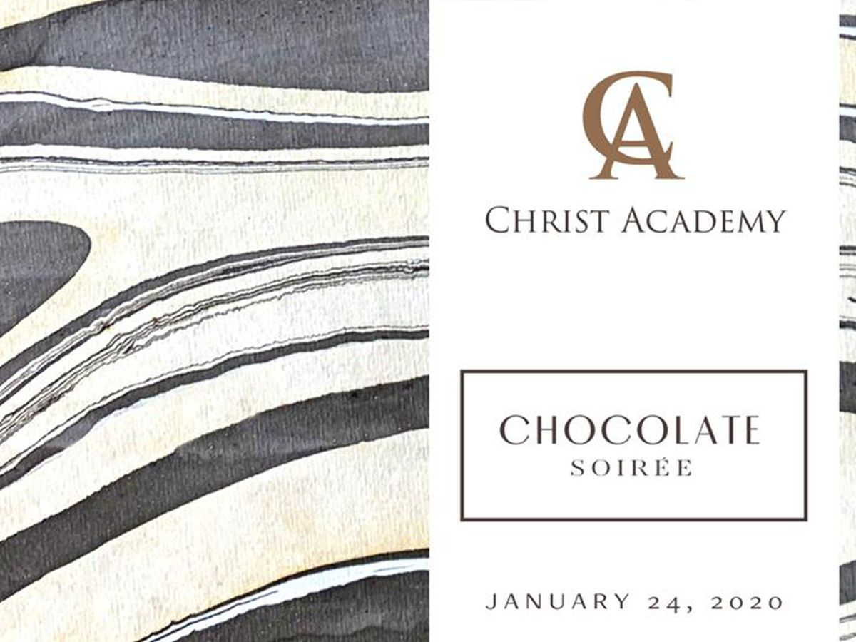 Christ Academy hosting Chocolate Soirée