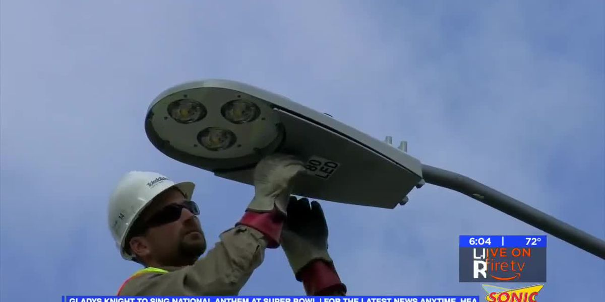 Weather delays WF street light project - KAUZ
