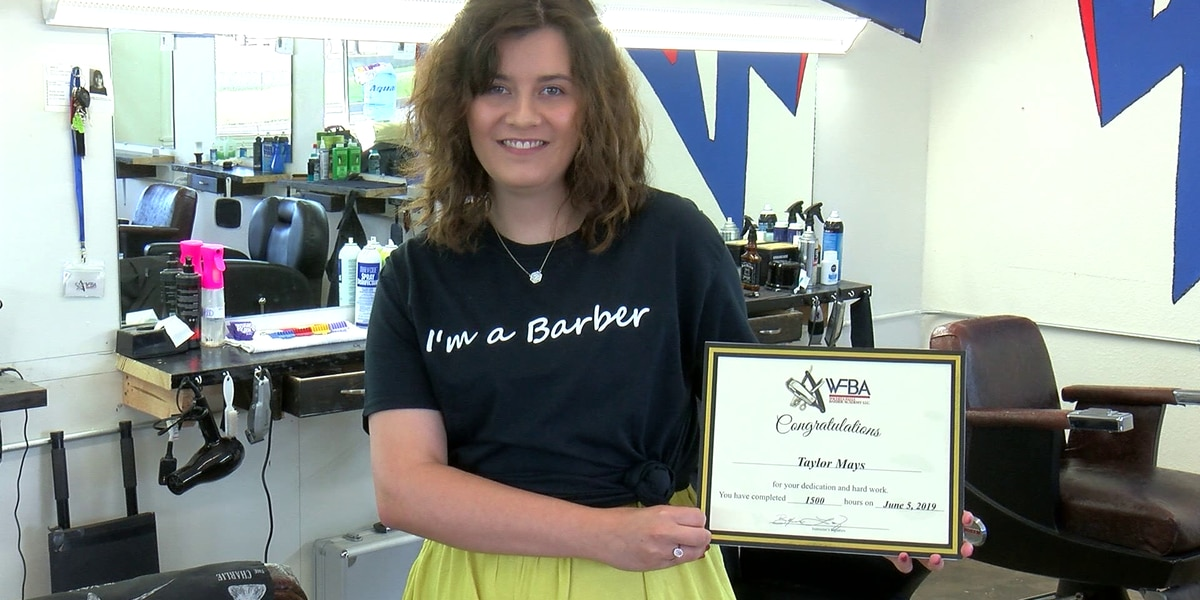 First student graduates from WF Barber Academy