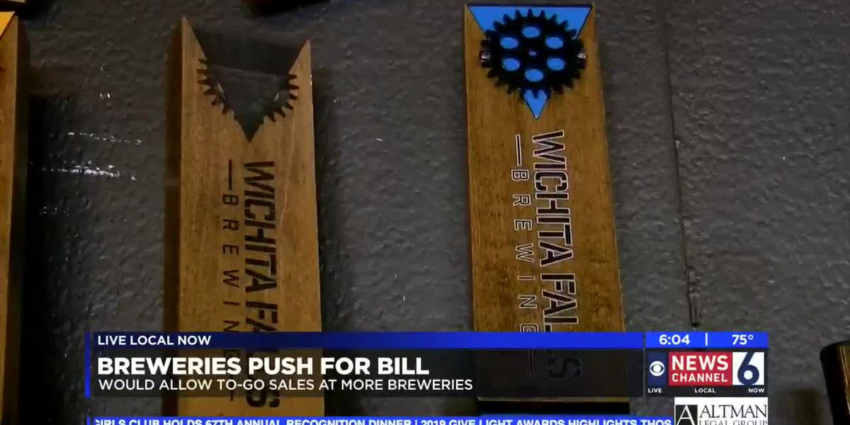 New bill could reduce laws on beer sales