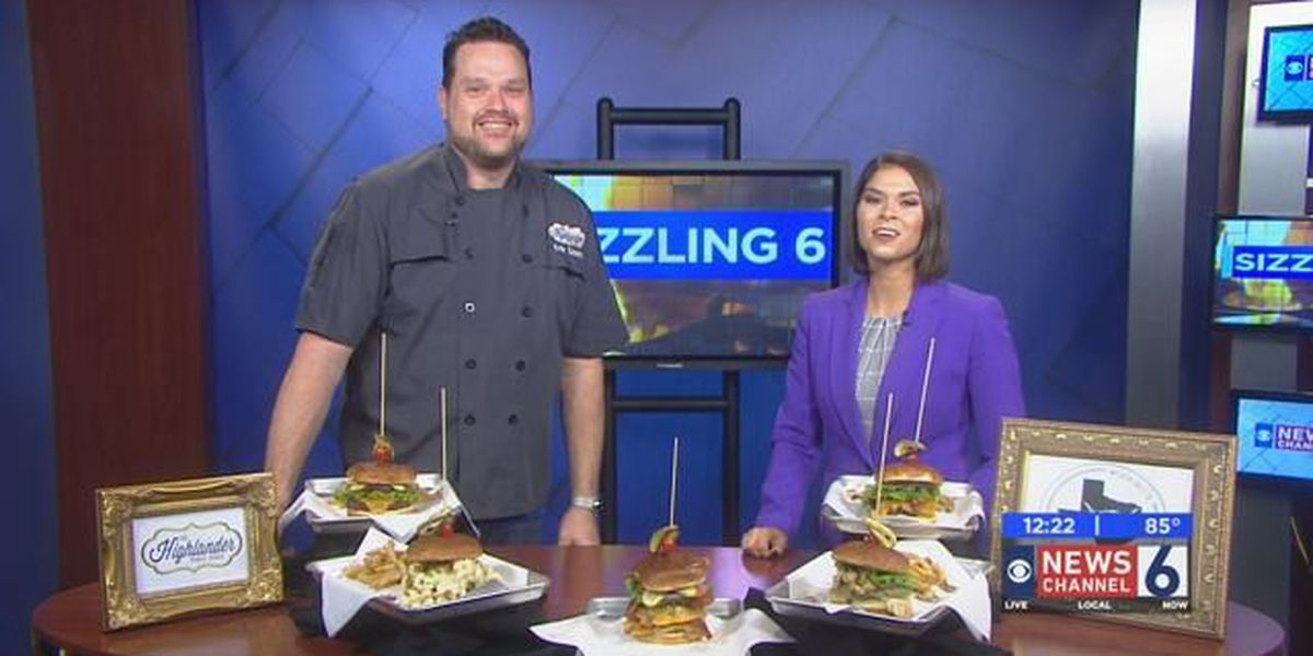 Sizzling With 6: Highlander Public House Burger Toppings