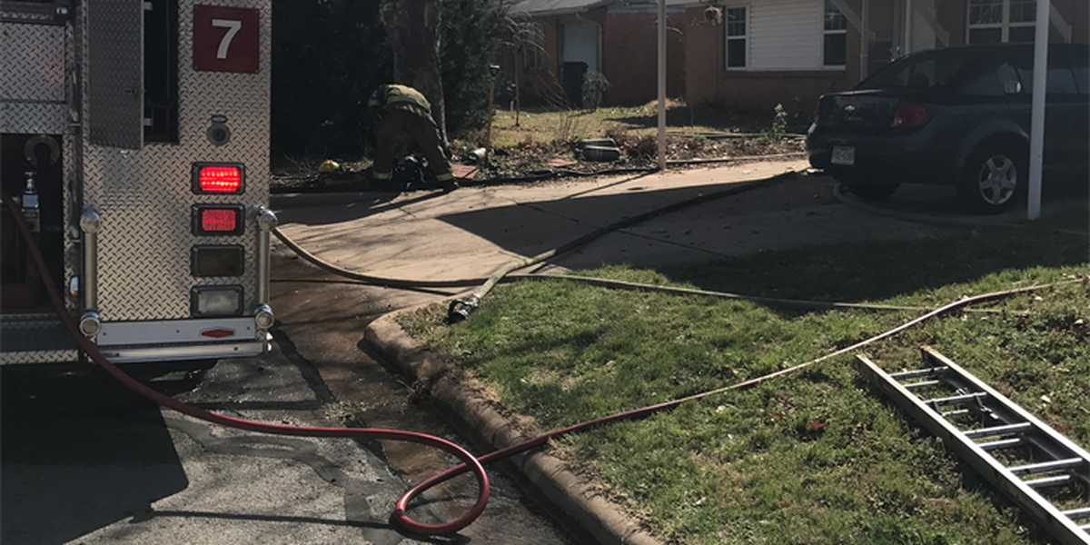 Fire damages home in WF Friday