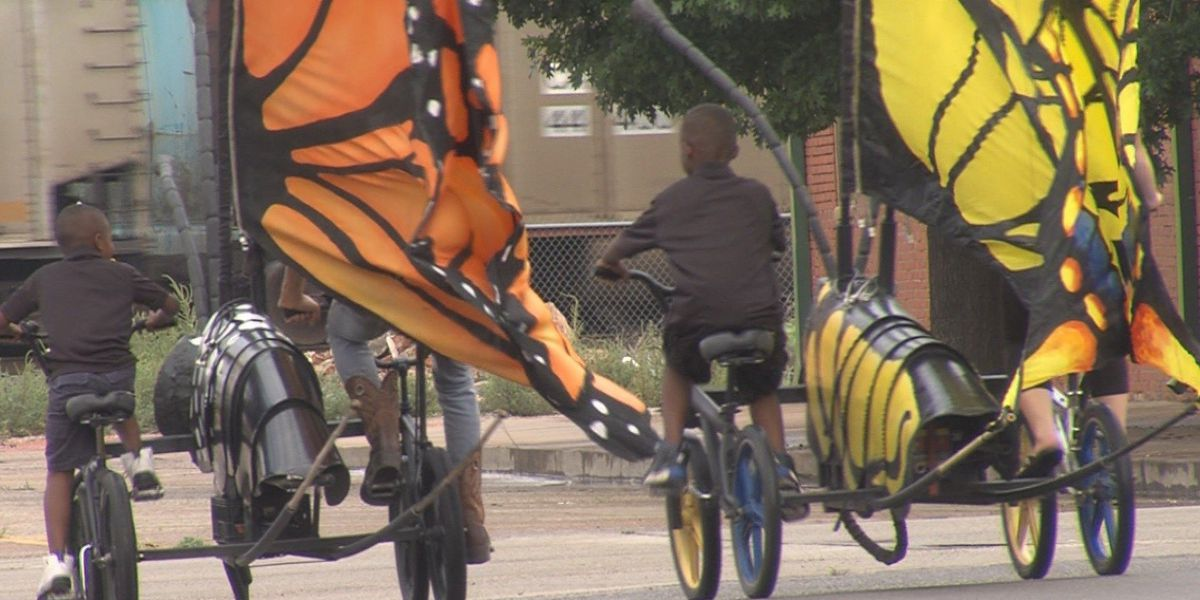 Austin Bike Zoo flies into Wichita Falls