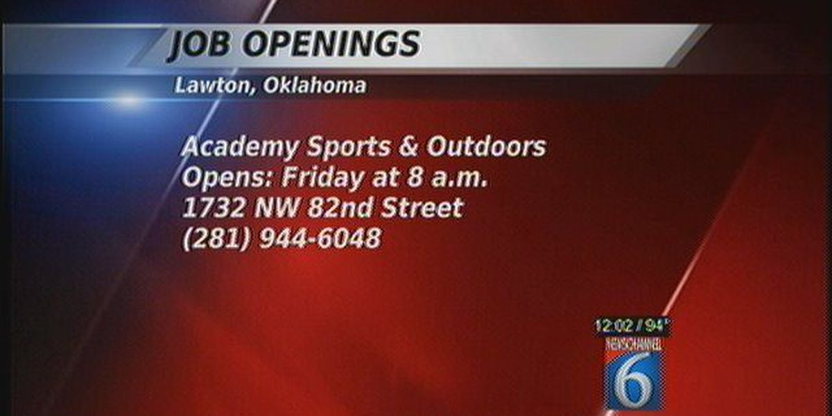Job Openings In Lawton