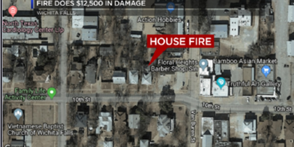 Cause unknown for house fire on 10th Street