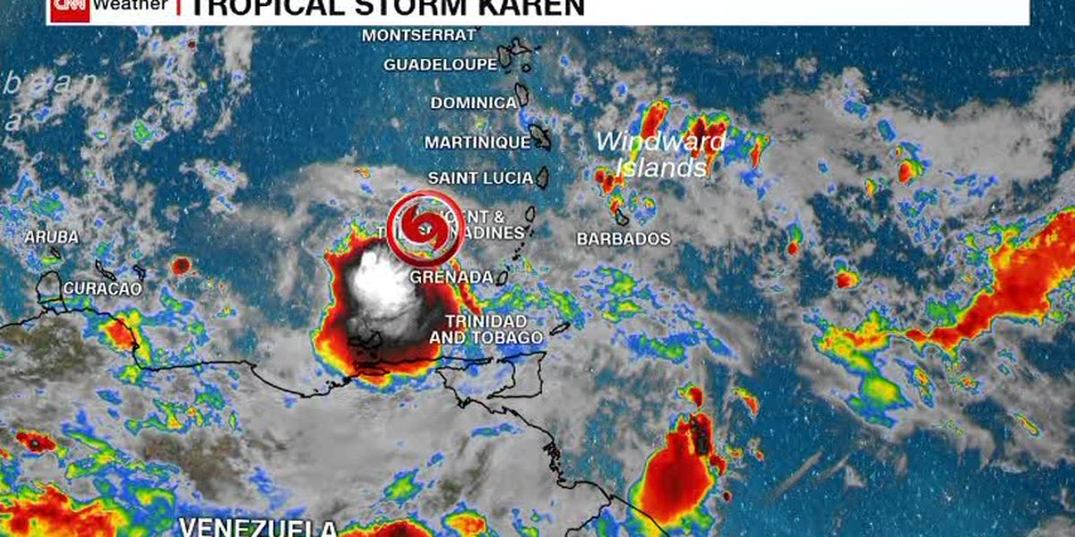 Puerto Rico to close schools as TD Karen threatens flooding