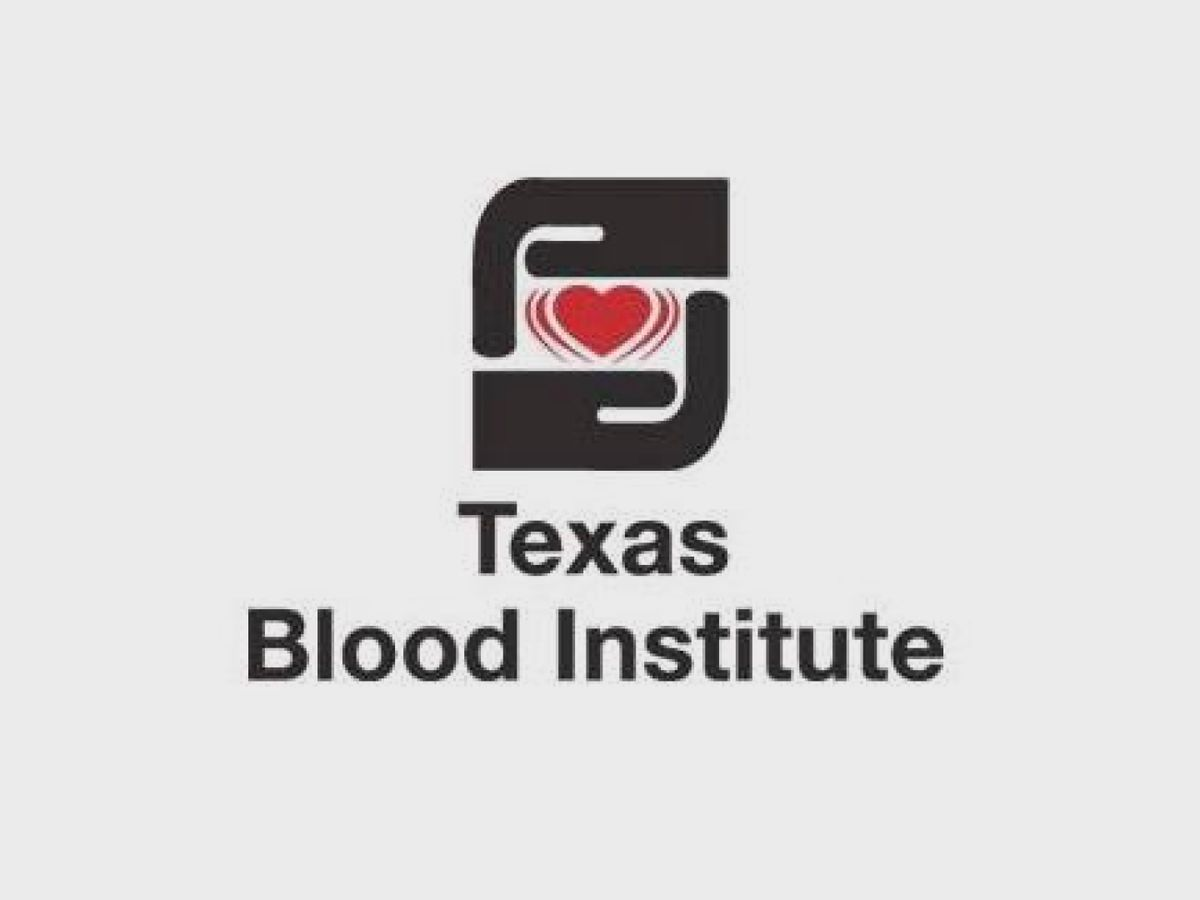 Texas Blood Institute to host weekend blood drive