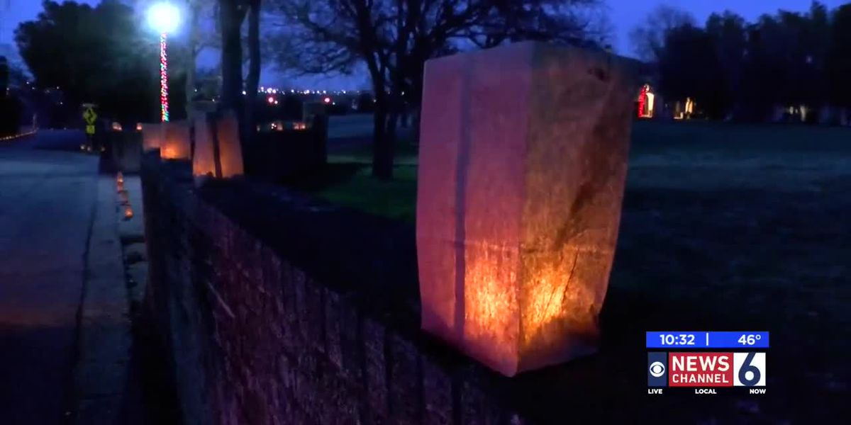 Weather stays good for annual Morningside Luminaries