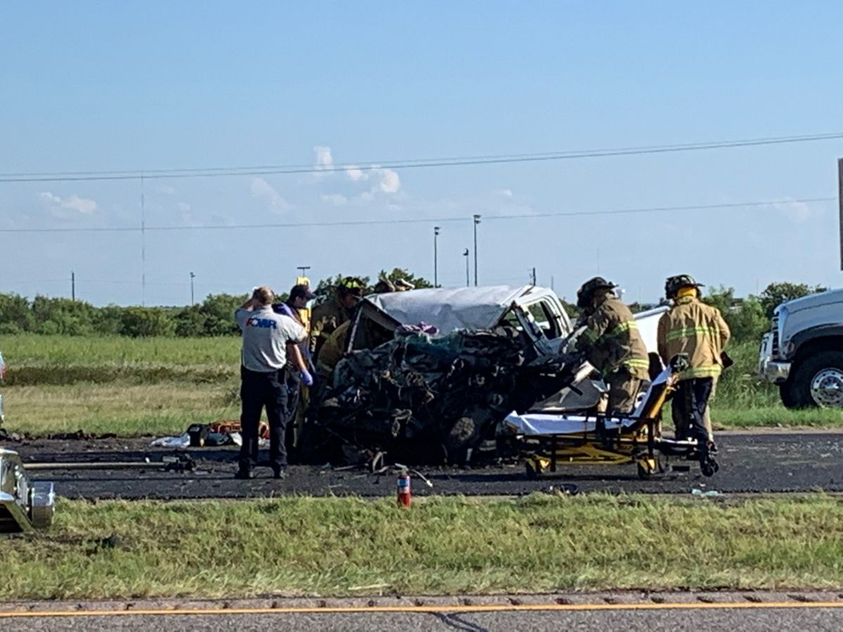 UPDATE: One person injured in crash on Highway 287
