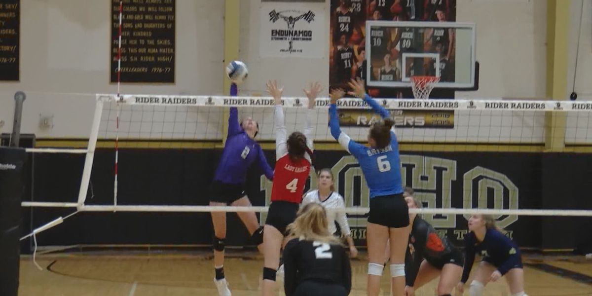 Rider's Humpert, Graham's Faulk excited for 2nd year of Oil Bowl volleyball