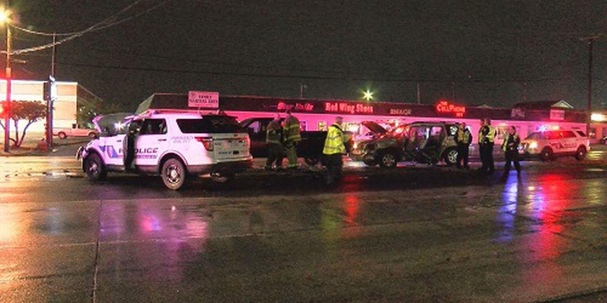 3-car crash involving WFPD SUV