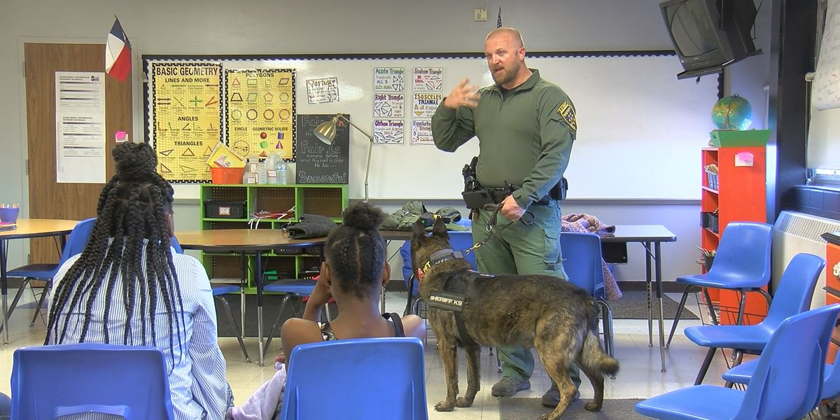 Booker T Washington Elementary students learn about careers
