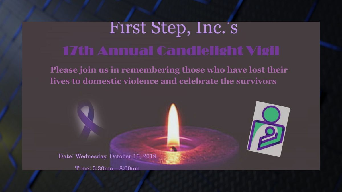 17th Annual Domestic Violence Candlelight Vigil