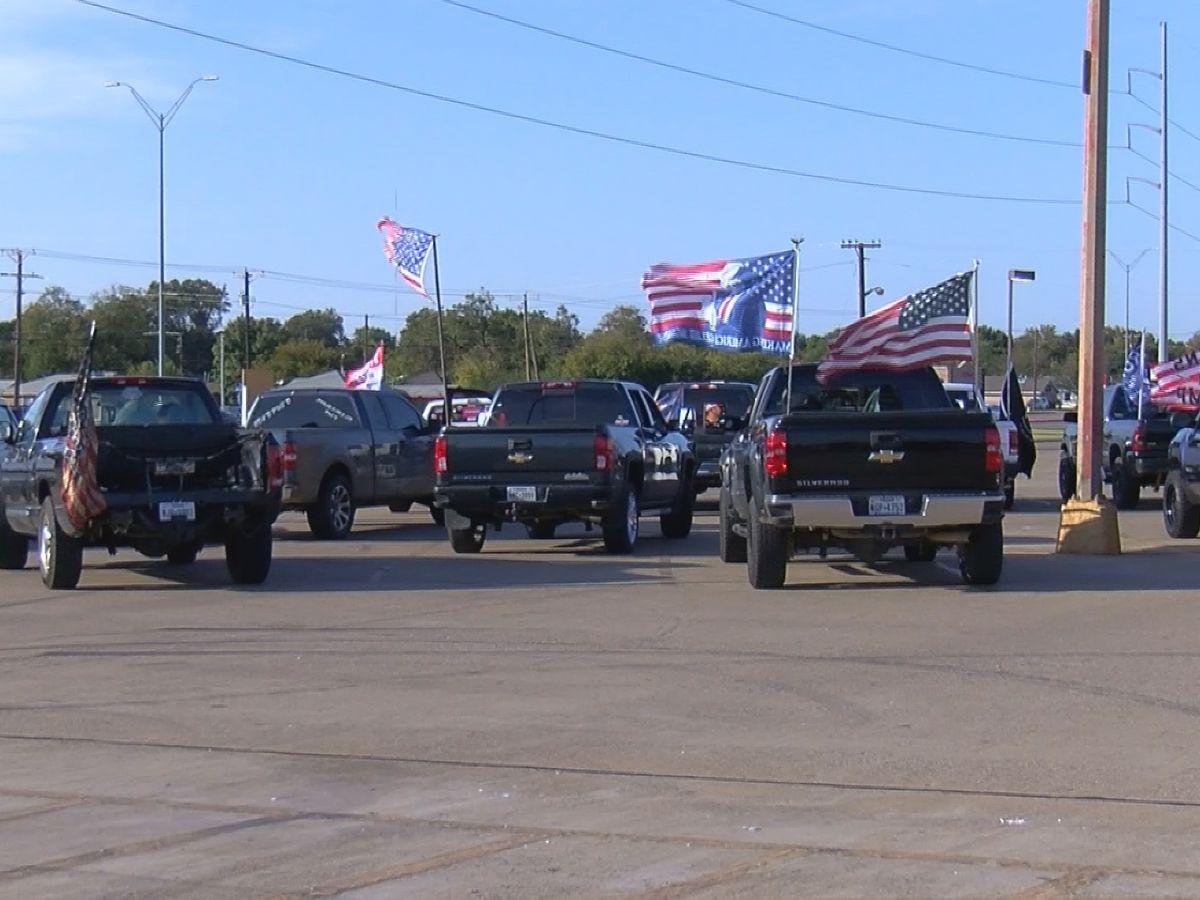 Trump cruise gathered dozens in Wichita Falls