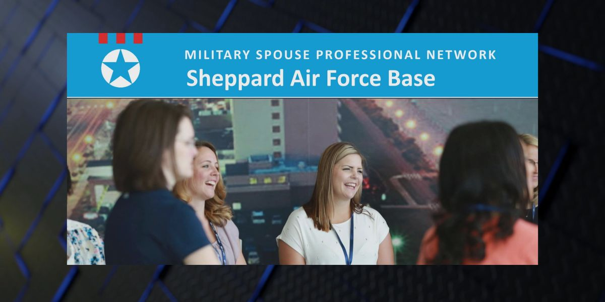 SAFB military spouses network with chocolate, coffee and champagne