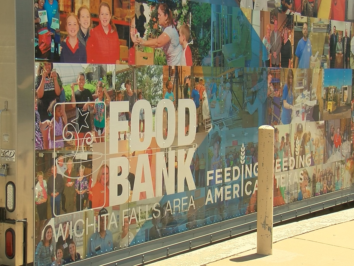 Wichita Falls Area Food Bank Donates to Bowie