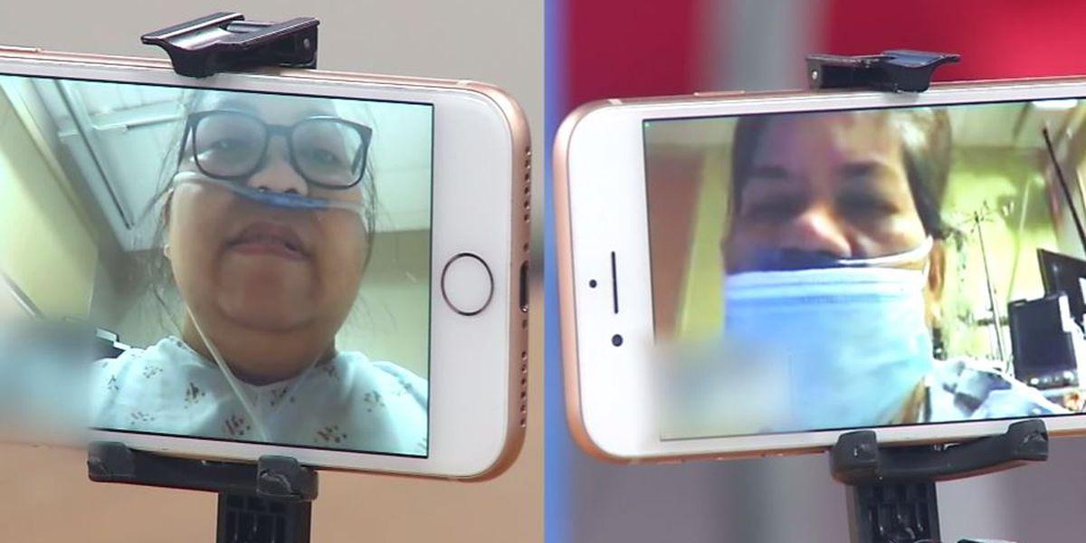 'We're surviving': Mother, daughter battle COVID-19 at same Calif. hospital