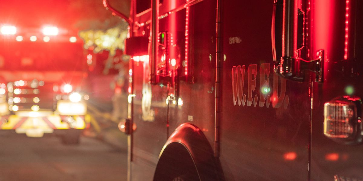 WFFD responds to house fire started in trash can