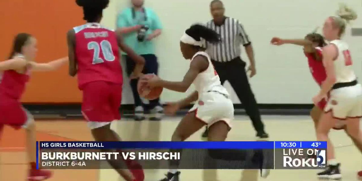 GIRLS: Burkburnett vs Hirschi highlights