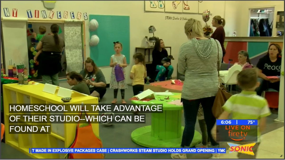Grand Opening Today at Crashworks STEAM Studio & Makerspace