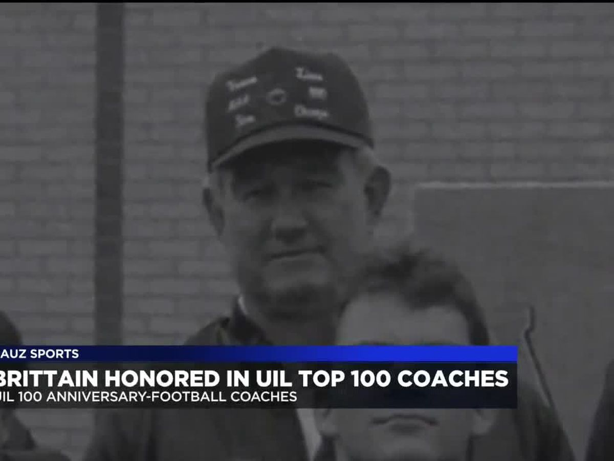 Leo Brittain honored in UIL Top 100 Coaches