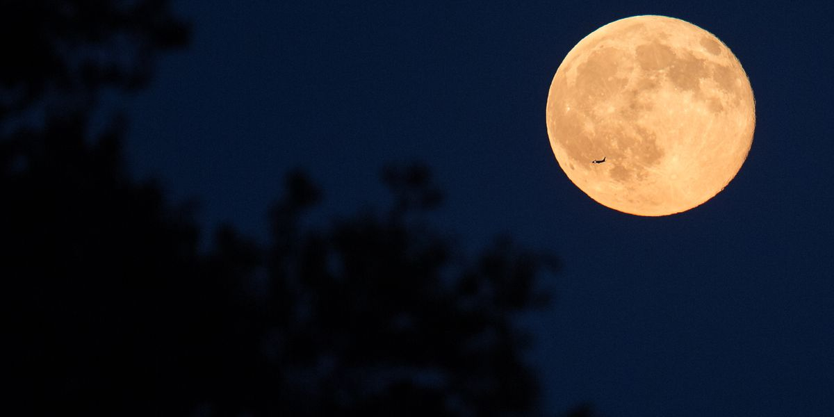 March's creepy-crawly full moon rises this weekend