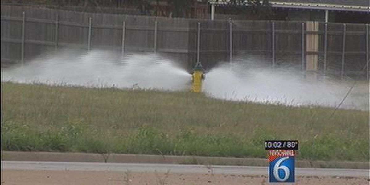 Drought Watch: Necessary Water Waste