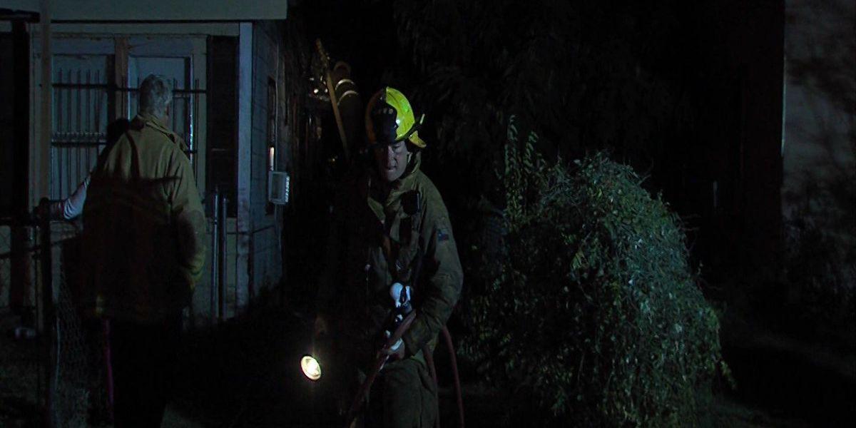 Car Blaze Becomes House Fire