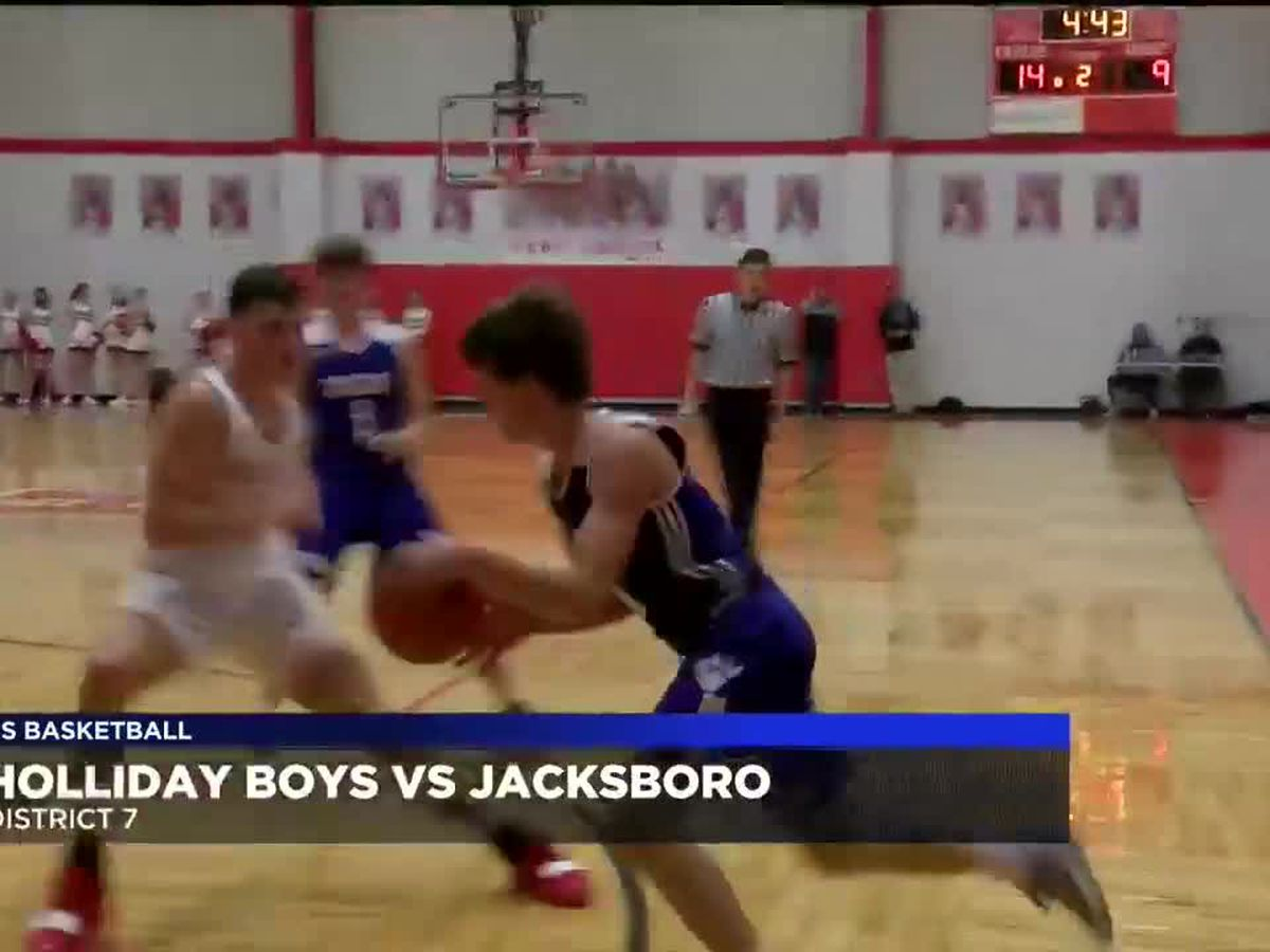Holliday boys take down Jacksboro