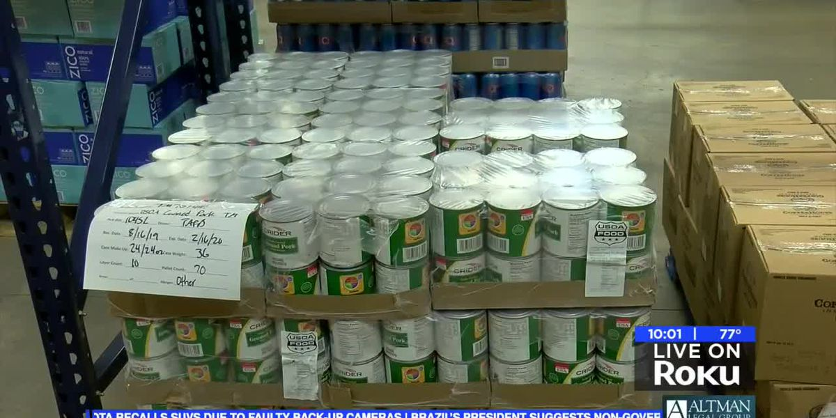 WF Food Bank needs food