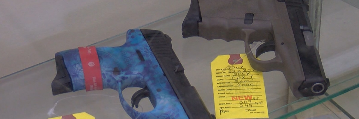 New Texas gun laws take effect next month