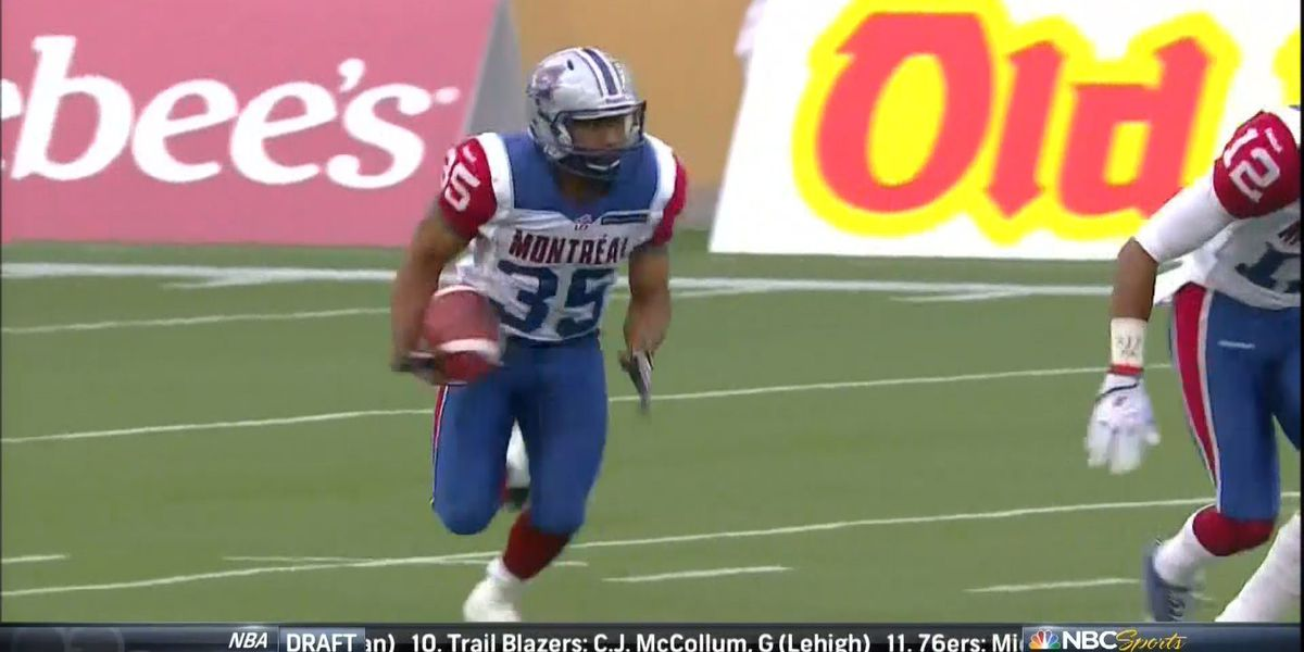 Nighthawks' Carrier Scores in CFL Debut!