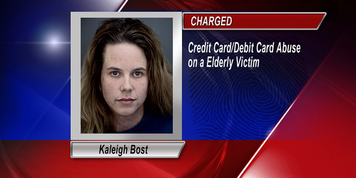 One Arrested For Two Counts Of Credit Card Abuse