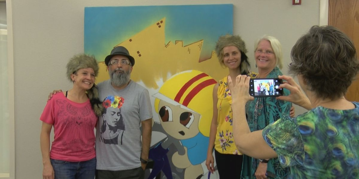 Wichita Falls Public Library unveils new painting on display