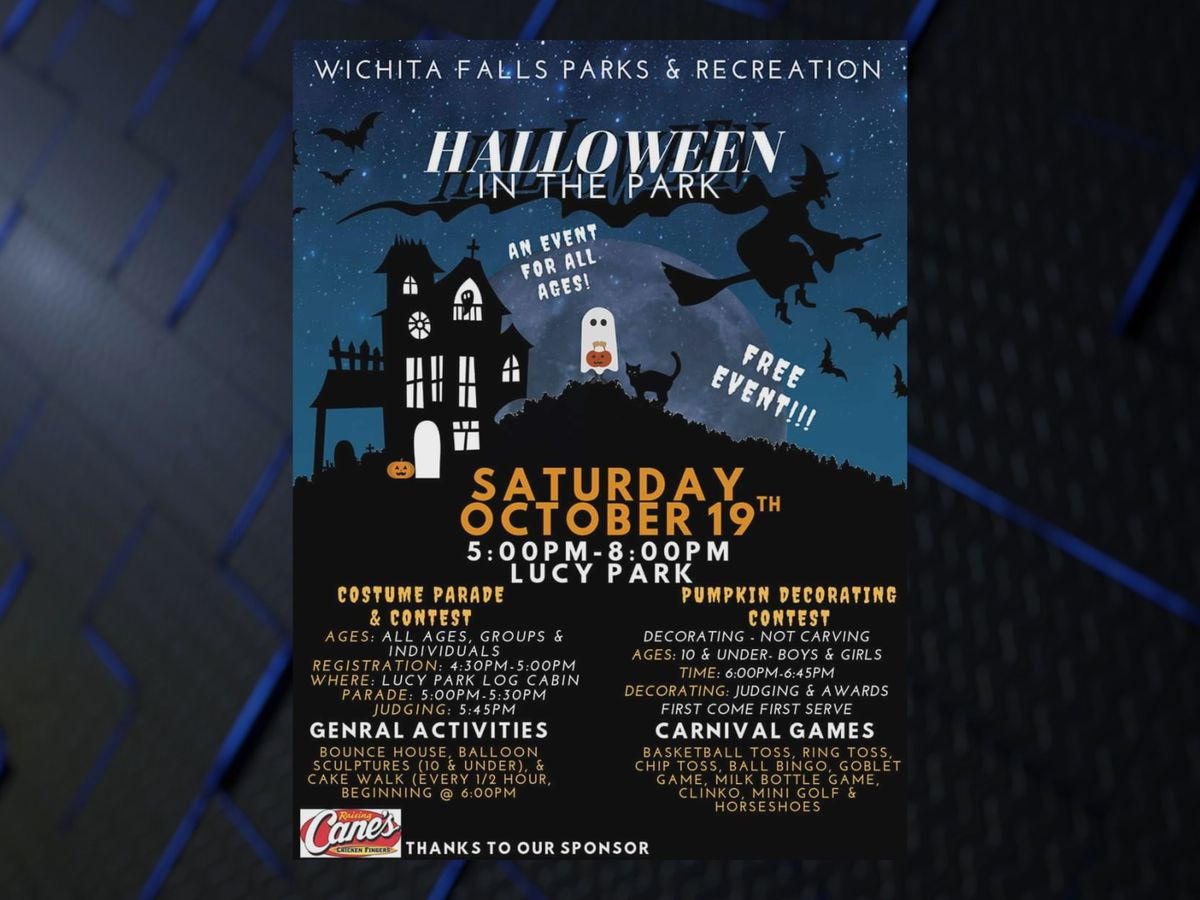 Tomorrow is Halloween in the Park
